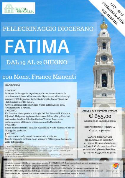 Cento anni di Fatima: anche da Senigallia si parte con il Vescovo